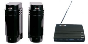 Wireless Driveway Alarm | Solar infrared beam | Perimeter protection